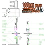 螺母电极结构示意图
